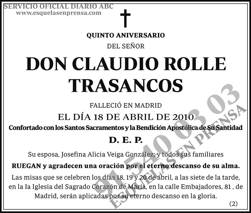 Claudio Rolle Trasancos
